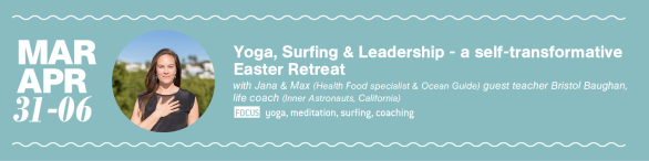 Yoga and Surf Retreat Coaching Portugal March April 2018