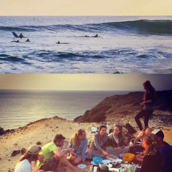 surf and yoga vacation in portugal