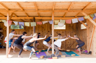 yoga and surf in Portugal; learn to surf and meditate; practice yoga daily in Portugal; yoga in Portugal; yoga in nature Algarve; meditation in nature; retreat for the soul; retreat for burn-out in Portugal; best yoga and surf retreat in Europe; yoga holi