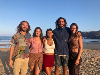 yoga and surf in Portugal; practice yoga and meditation daily; reconnect with nature; yoga and surf holiday in the Algarve; relaxing retreat Portugal; surf vacation Portugal; Connect with the body; meditation retreat in Portugal; yoga holiday in nature; n