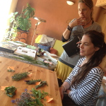 herbal workshop at Ocean & Yoga Retreat Portugal