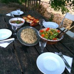 homemade food on our surf & Yoga retreat