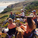 Meet like-minded people on our Yoga & Surf camps