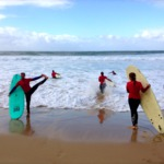 surfing for beginners and advanced yogi's